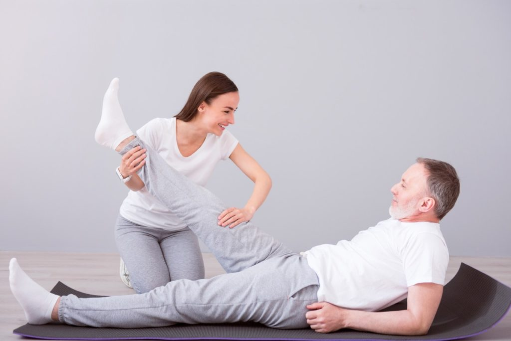 Rehabilitation after treatment - Male pelvic floor muscles